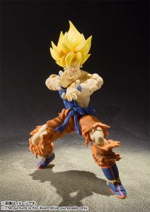 S.H. Figuarts Super Saiyan Son Goku Super Warrior Awakening Version