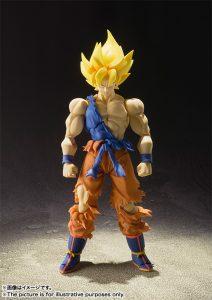 S.H. Figuarts Super Saiyan Son Goku Super Warrior Awakening Version 3