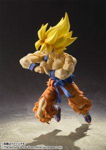S.H. Figuarts Super Saiyan Son Goku Super Warrior Awakening Version 4