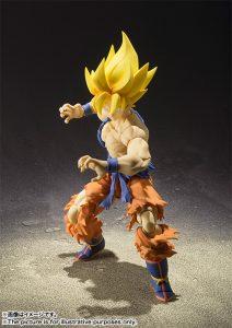 S.H. Figuarts Super Saiyan Son Goku Super Warrior Awakening Version 5
