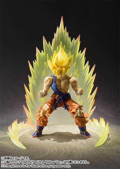 S.H. Figuarts Super Saiyan Son Goku Super Warrior Awakening Version New Details