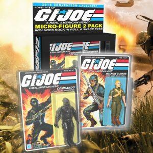 SDCC 2015 Exclusive G.I. Joe Micro Figure 2-Pack
