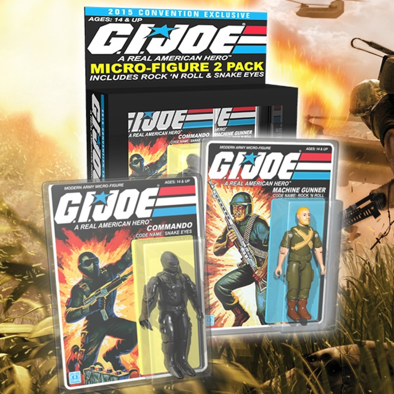 SDCC 2015 Exclusive G.I. Joe Micro Figure 2-Pack