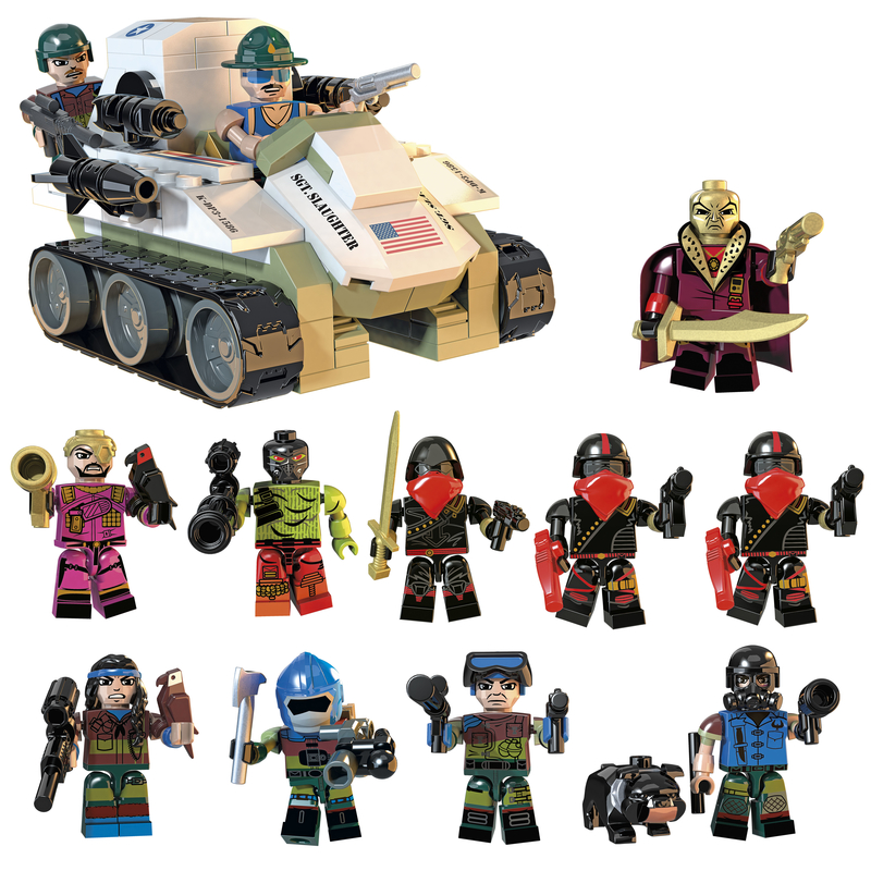G.I. Joe Kre-O Sgt. Slaughter's Marauders Box Set Now $19.99