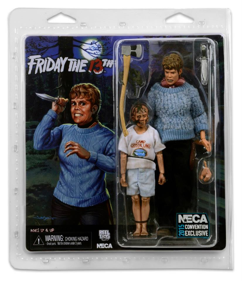 SDCC 2015 Exclusive NECA 35th Anniversary Friday The 13th 2 Pack