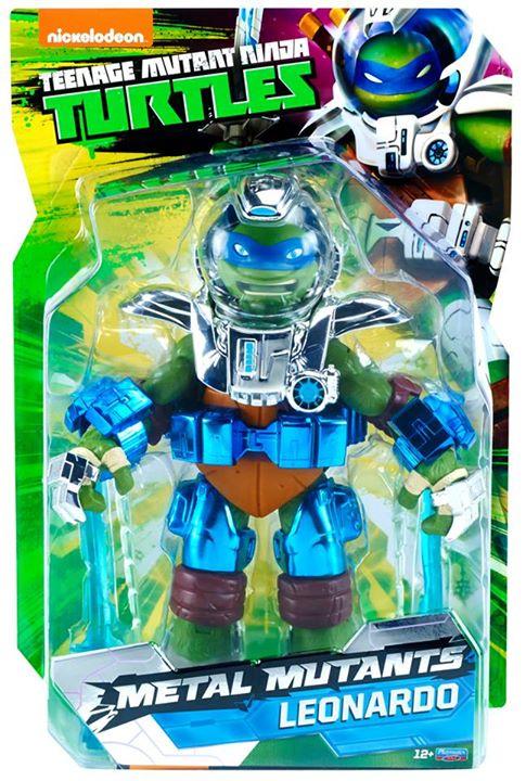 SDCC 2015 Exclusive TMNT 11″ Metal Mutants Leonardo Figure Official Press Release