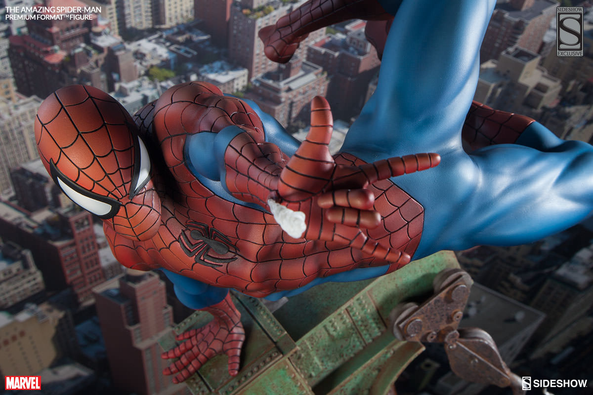 The Amazing Spider-Man Premium Format Figure Available To Pre-Order