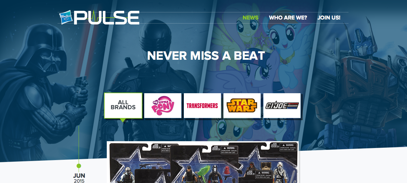 The New Hasbro Pulse Is Live