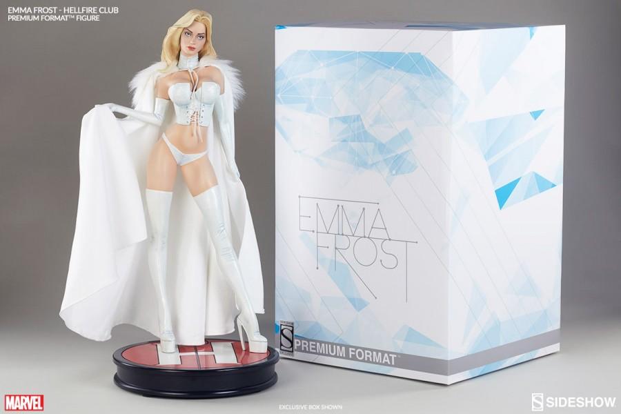 Sideshow Emma Frost Premium Format Figure Final Production Images