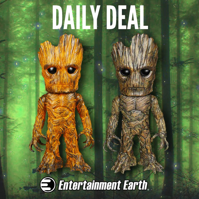 Entertainment Earth Daily Deal – Funko Hikari Guardians Of The Galaxy Groot Figure Sale