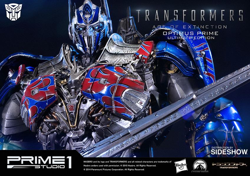 Optimus Prime Ultimate Edition Transformers Polystone Statue Pre-Order