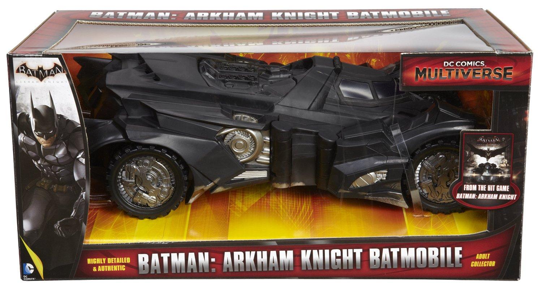 Amazon Exclusive DC Multiverse Batman: Arkham Knight Batmobile Reissue