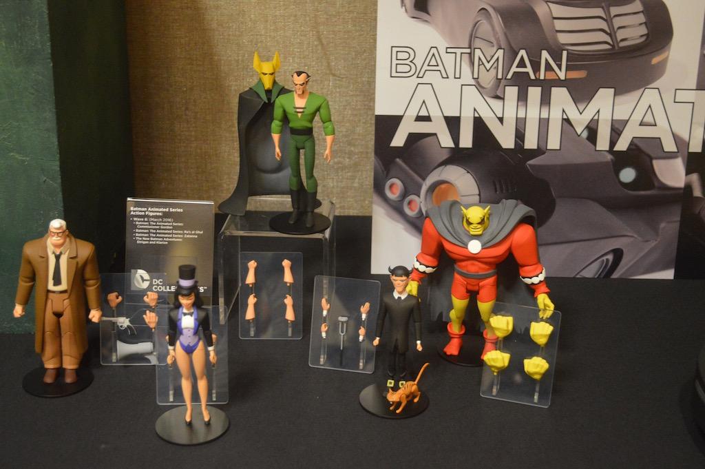SDCC 2015 – DC Collectibles Batman: Animated Series Reveals