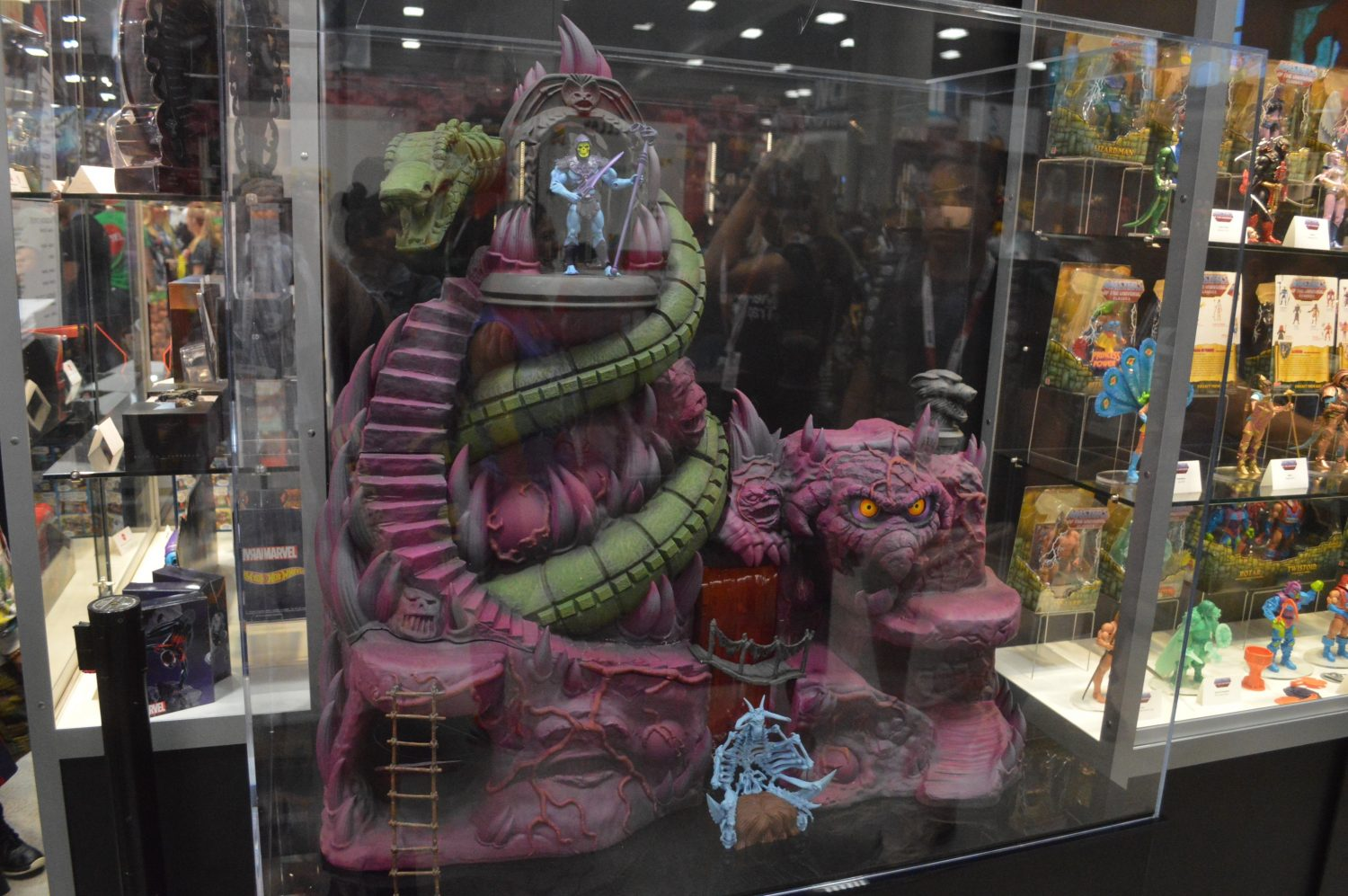 Super7 SDCC 2018 – Masters Of The Universe Classics Snake Mountain Playset Is Happening