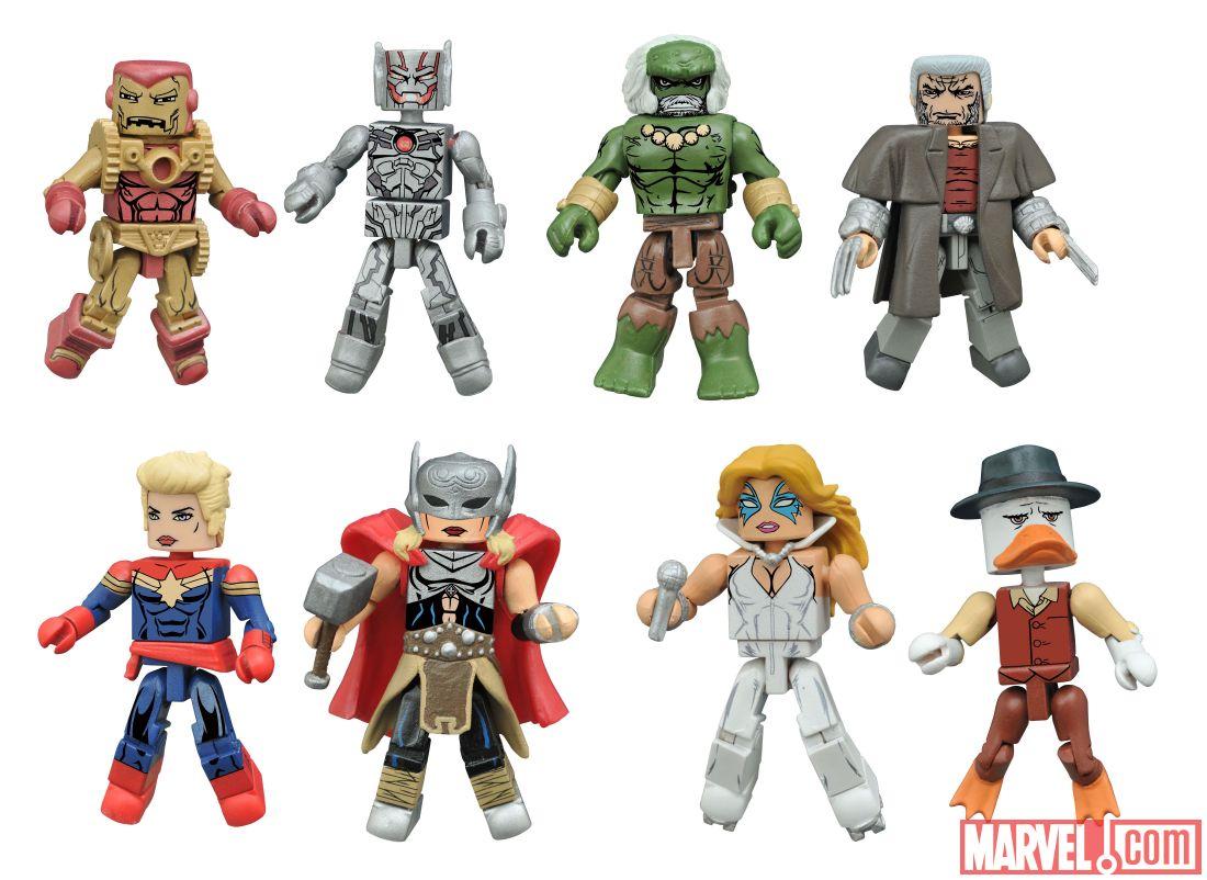 Diamond Select Toys Announces Secret Wars Minimates Figure Two Packs