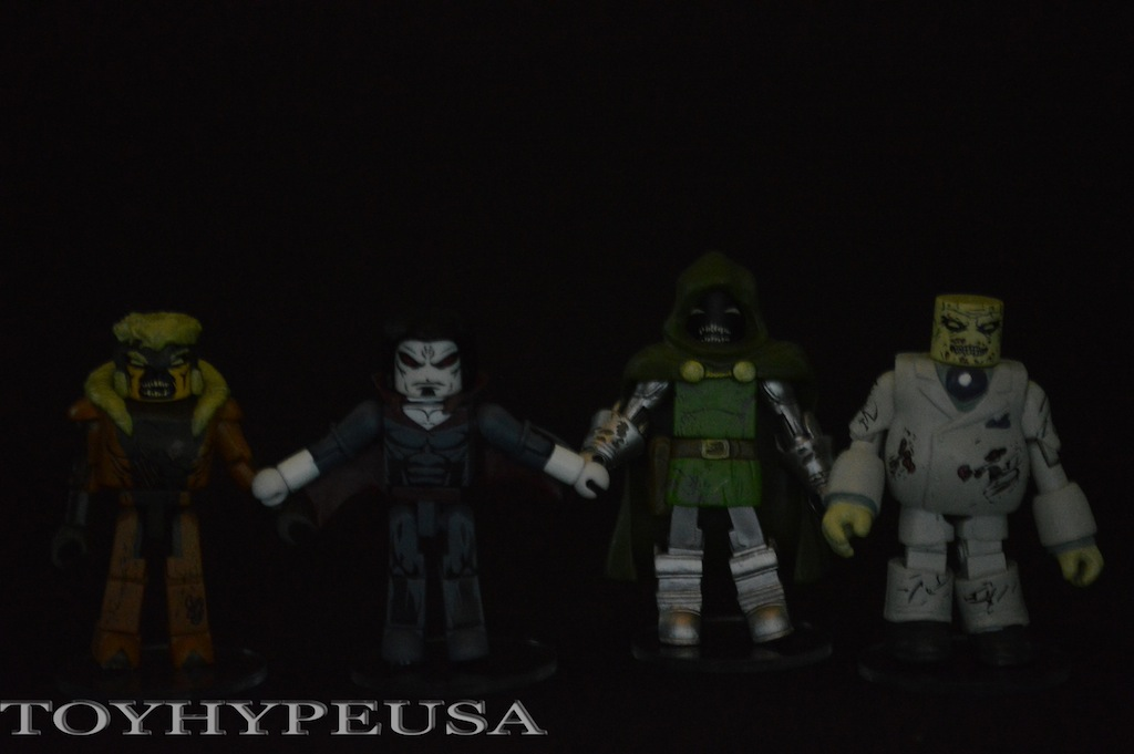 Diamond Select Toys Marvel Minimates: Villain Zombies Series 2 Box Set Review
