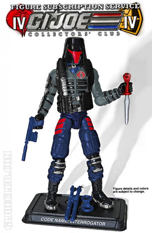 G.I. Joe Collectors' Club FSS 4.0 Interrogator Figure Preview