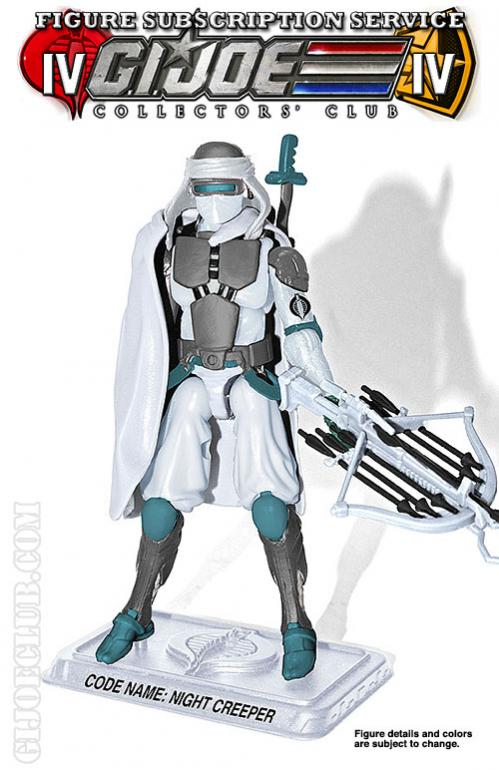 G.I. Joe Collectors' Club FSS 4.0 Cobra Ice Ninja: Night Creeper Figure Preview