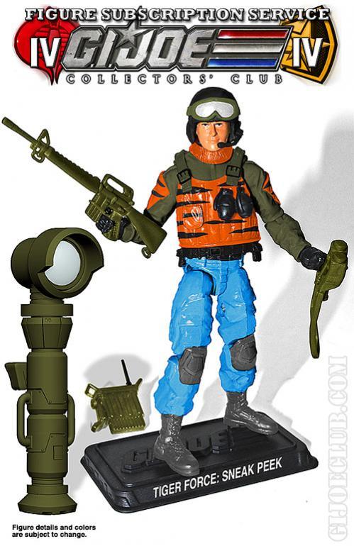 G.I. Joe Collectors' Club FSS 4.0 Sneak Peek Figure Preview