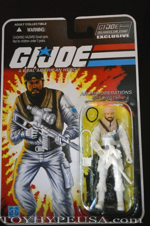 G.I. Joe Collectors' Club Figure Subscription Service 3.0 Frostbite Review
