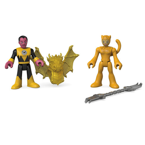 Fisher-Price Imaginext DC Super Friends Update On Firestorm, Sinestro & Cheetah