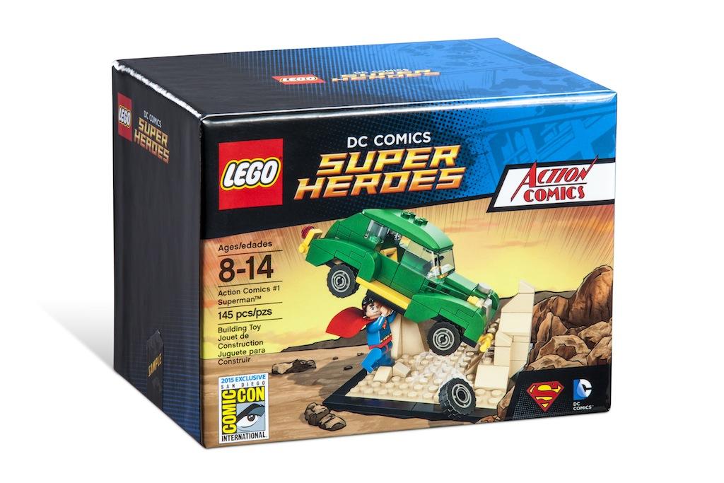 SDCC 2015 Exclusive LEGO DC Comics Super Heroes & Scooby Doo