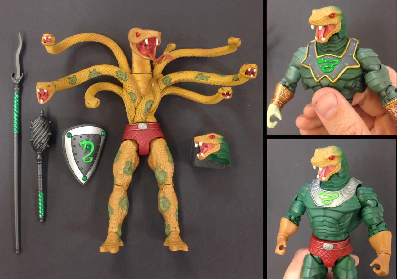 Mattel Updates On King Hssss' Torso & A New Figure For 2015