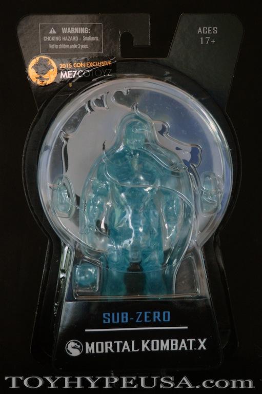 Mezco SDCC Exclusive Mortal Kombat X Ice Clone Sub Zero Review