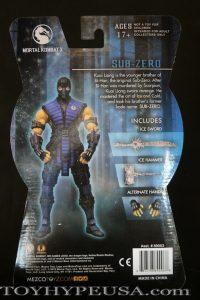 Mezco SDCC Exclusive Mortal Kombat X Ice Clone Sub Zero 02