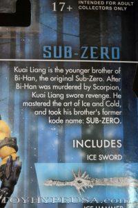 Mezco SDCC Exclusive Mortal Kombat X Ice Clone Sub Zero 03