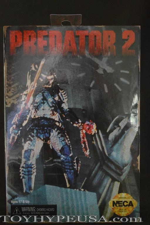 NECA Predator 2 City Hunter 16-Bit Video Game Appearance Figure Review