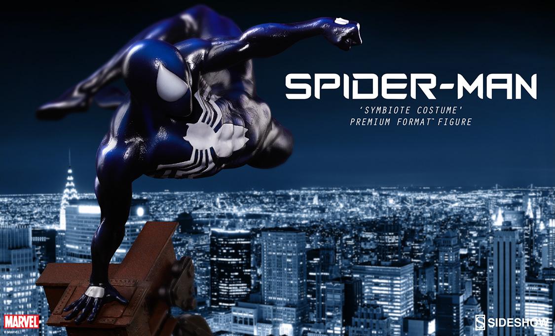 Spider-Man 'Symbiote Costume' Premium Format Figure Preview