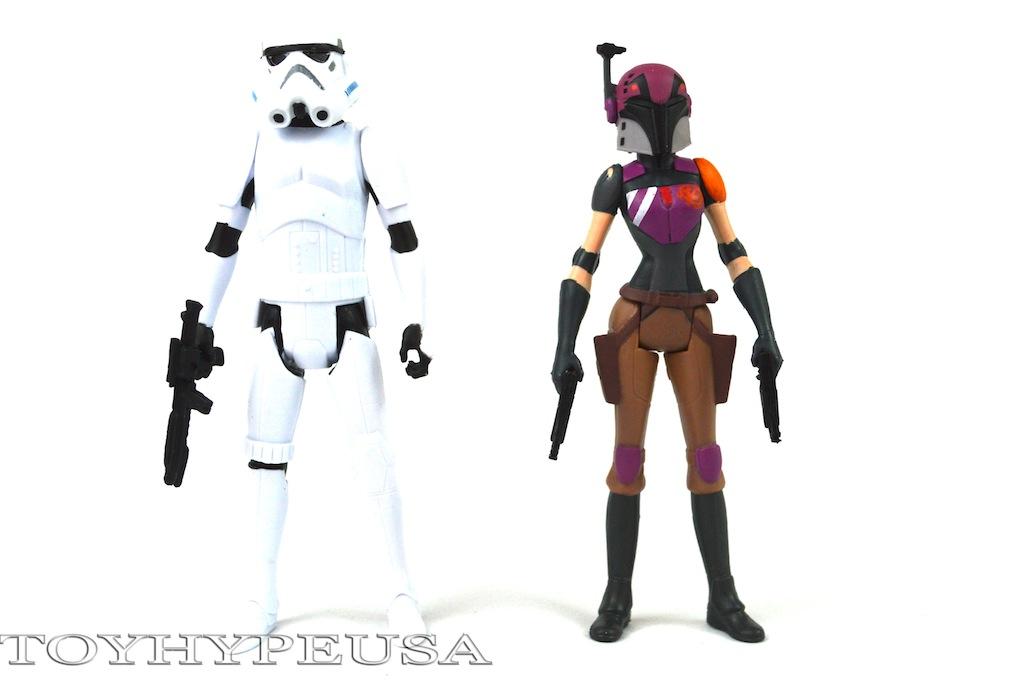 Star Wars Rebels Sabine Wren & Stormtrooper Review