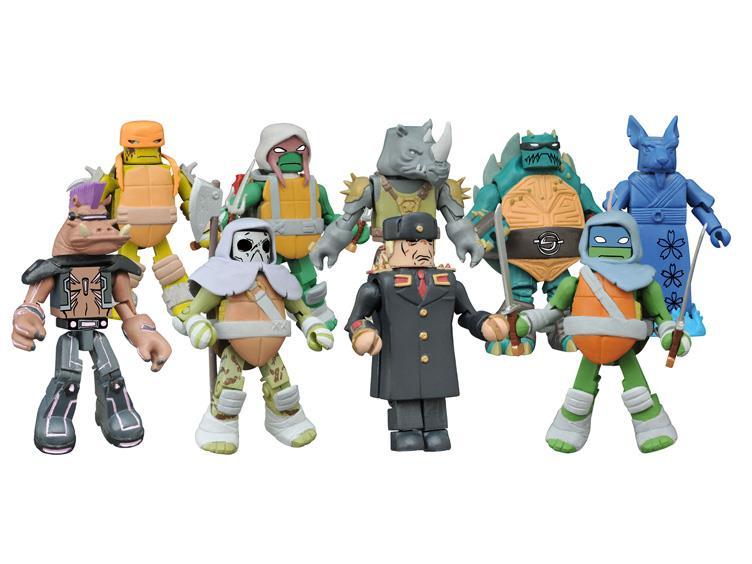 BigBadToyStore Update – Diamond Select Toys TMNT Minimates Wave 3, DC, The Walking Dead & More
