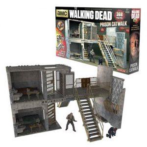 The Walking Dead Prison Catwalk Construction Set