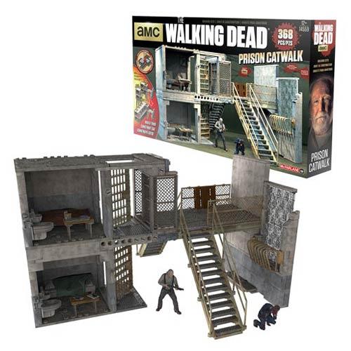 McFarlane Toys The Walking Dead Building Set Images – Prison, Hospital Doors, Woodbury & More
