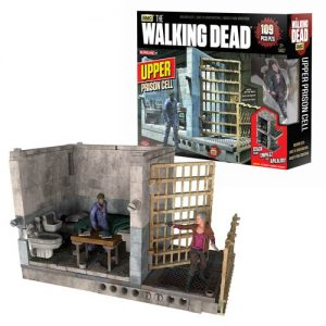 The Walking Dead Upper and Lower Prison Cell Construction Set