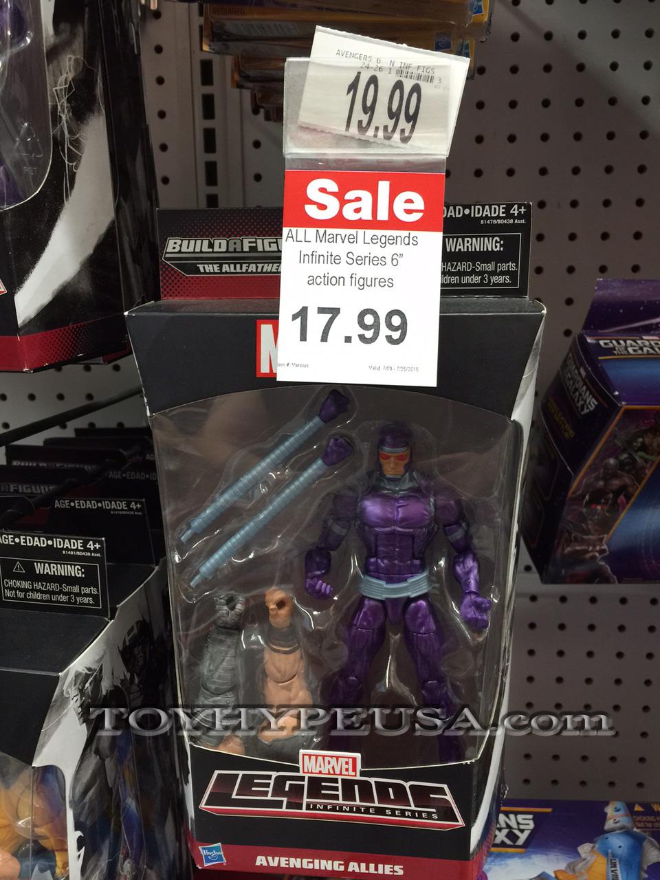 "Toys ""R"" Us & Amazon Sale On Marvel Legends Infinite Series Action Figures"