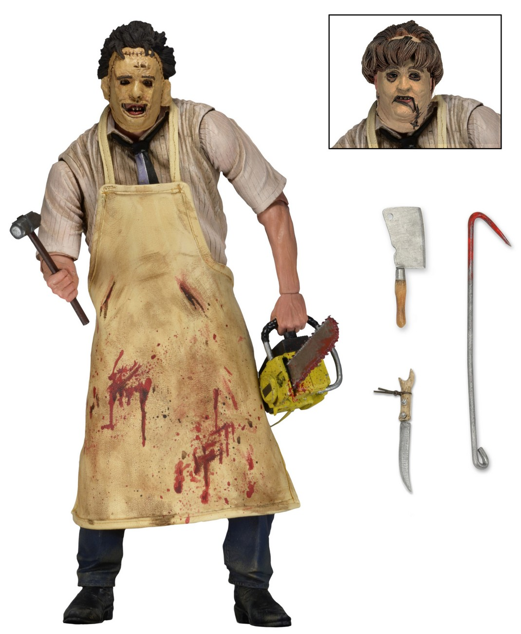 NECA Toys Texas Chainsaw Massacre Ultimate Leatherface 7″ Scale Figure Re-Issue