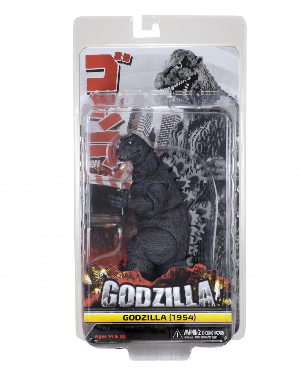NECA Godzilla 1954 – 12″ Head-To-Tail Action Figure Listed On Ebay
