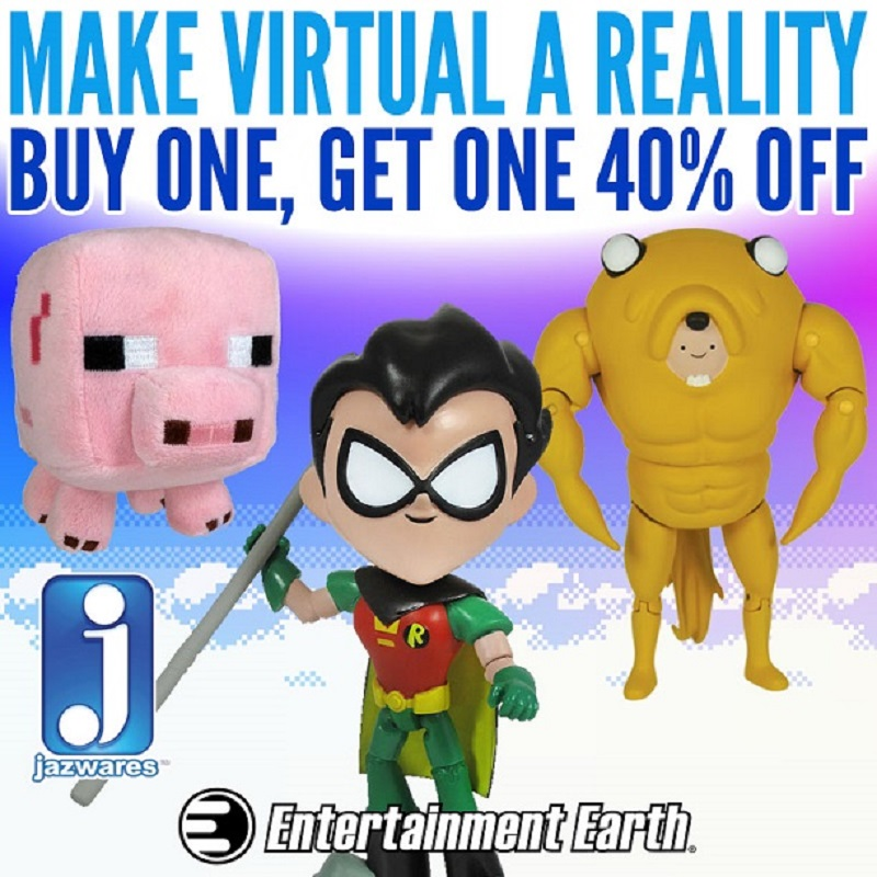 Entertainment Earth Jazwares BOGO Sale On Action Figures Ends Midnight
