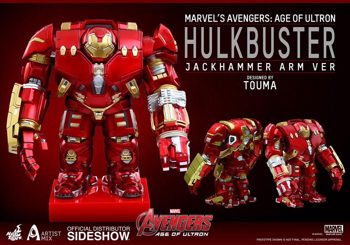 Hot Toys Hulkbuster Jackhammer Arm Version – Artist Mix Marvel Collectible Figure Pre-Orders