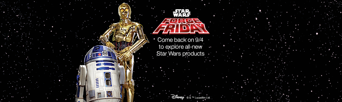 Amazon Launches Pre-Star Wars Force Friday Page Announcing Upcoming Products