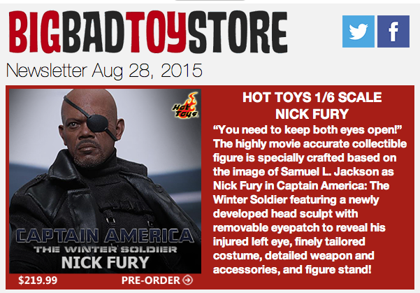 BigBadToyStore Update: Marvel, Dragon Ball Z, Star Wars, Gremlins, Transformers, Gundam & More