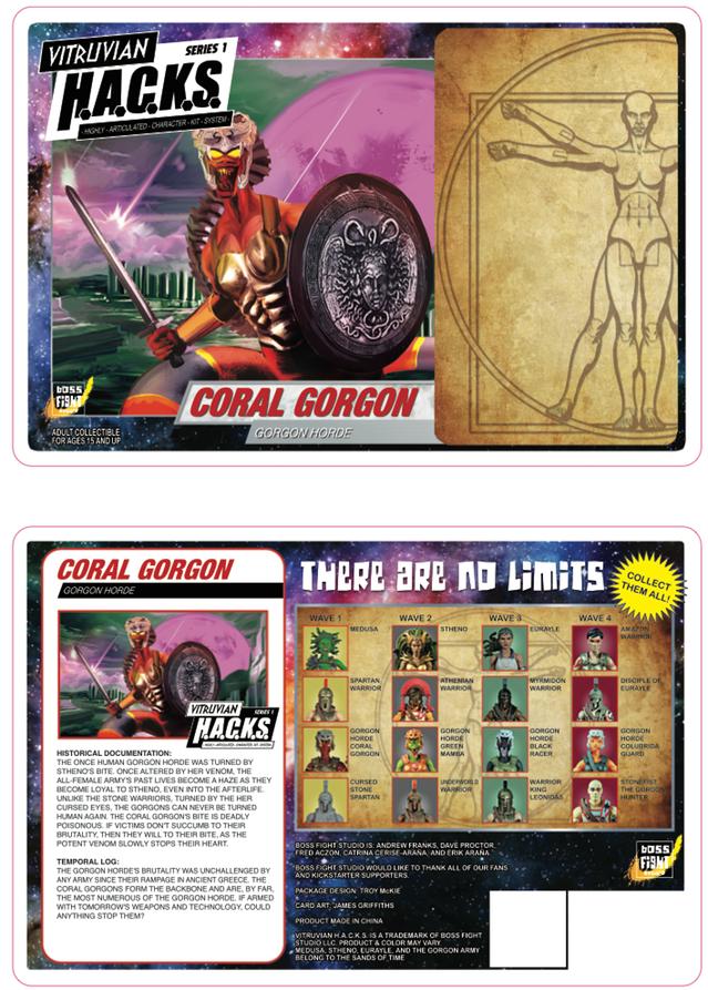 Boss Fight Studio Vitruvian H.A.C.K.S. Packaging Art Revealed