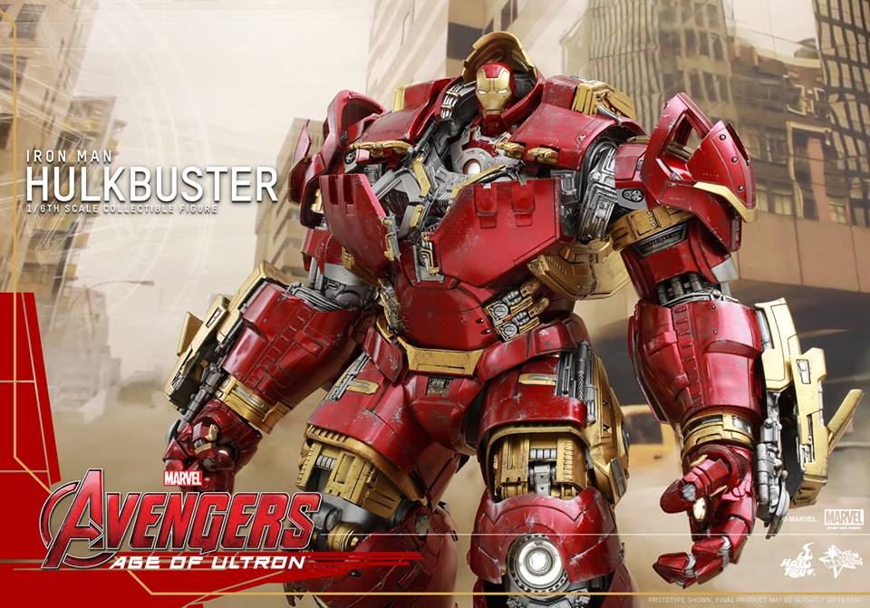 Hot Toys Avengers: Age Of Ultron Hulkbuster Sixth Scale Figure Update