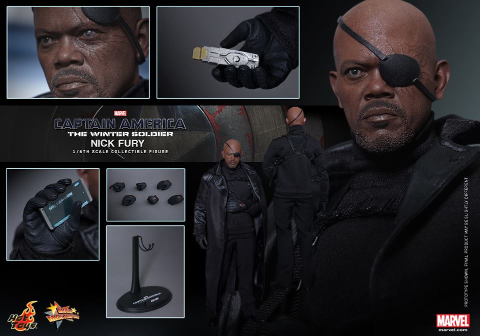 Hot Toys Nick Fury Sixth Scale Figure Pre-Orders