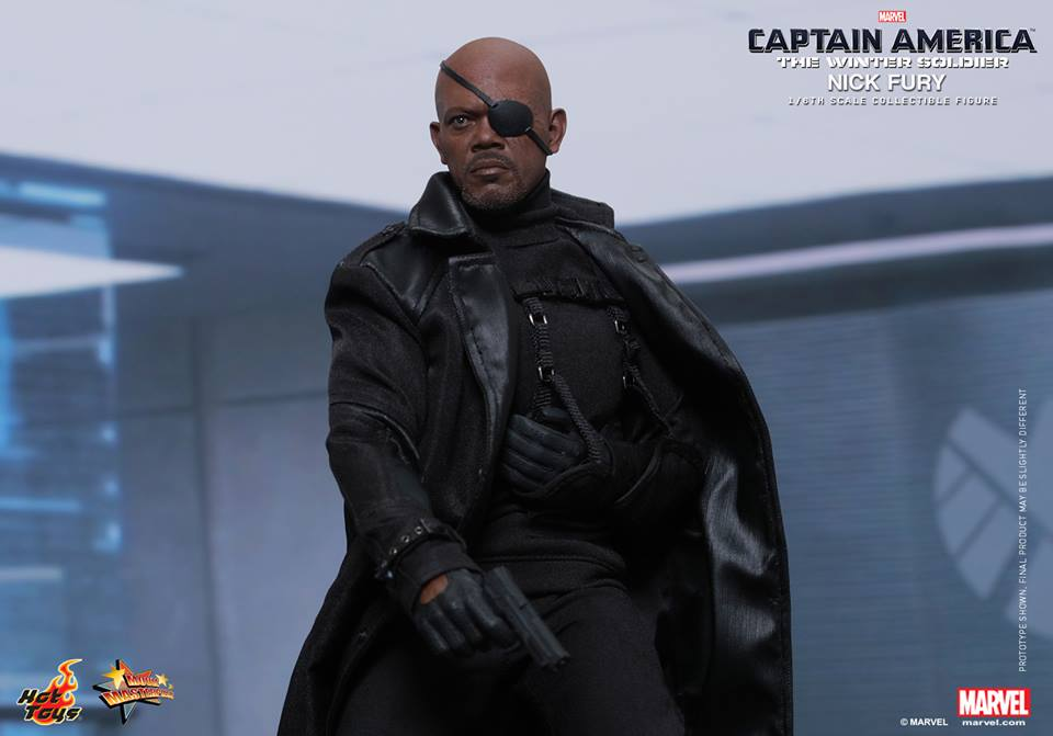 Hot Toys Captain America: The Winter Soldier Nick Fury Sixth Scale Figure