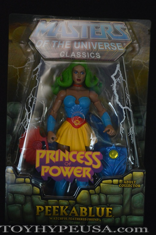 Masters Of The Universe Classics Peekablue Review