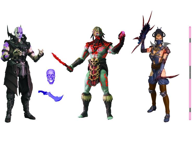 Mezco Toyz Mortal Kombat X 6″ Figure Series 2 Variant PX Previews Exclusive